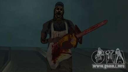 En los rieles (terror) para GTA San Andreas
