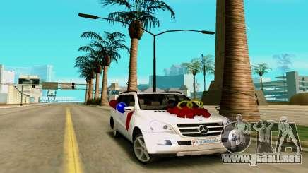 Mercedes-Benz GL para GTA San Andreas
