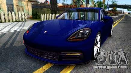 Porsche Panamera 4S 2017 v 3.0 para GTA San Andreas
