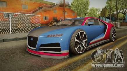 GTA 5 Truffade Nero para GTA San Andreas