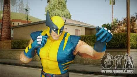 Marvel Heroes - Wolverine Modern UV No Claws para GTA San Andreas
