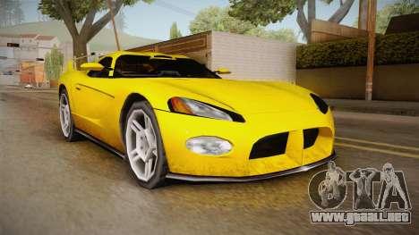 Jersey XS SA Style para GTA San Andreas