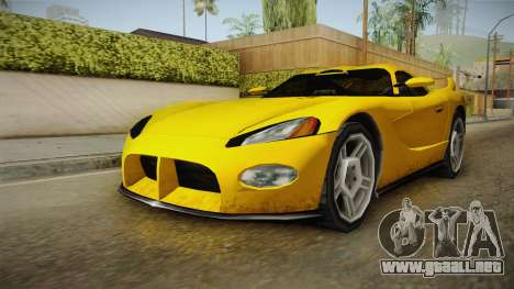 Jersey XS SA Style para la visión correcta GTA San Andreas