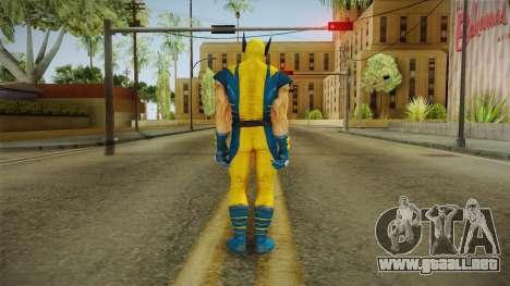 Marvel Heroes - Wolverine Modern UV No Claws para GTA San Andreas tercera pantalla
