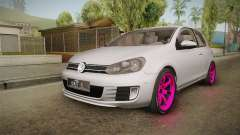 Volkswagen Golf Mk6 GTI para GTA San Andreas