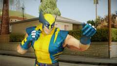 Marvel Heroes - Wolverine Modern UV No Claws para GTA San Andreas
