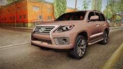 Lexus LX 570 Final Version para GTA San Andreas