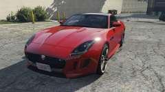 Jaguar F-Type R&SVR para GTA 5