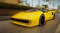 GTA 5 Pegassi Infernus Classic Cabrio para GTA San Andreas