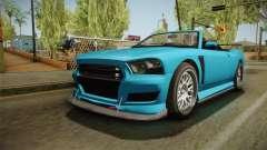 GTA 5 Bravado Buffalo 2-doors Cabrio para GTA San Andreas
