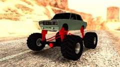 Vaz 2107 Monster para GTA San Andreas