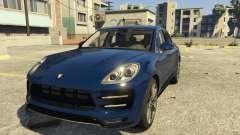 Porsche Macan Turbo 2016 para GTA 5