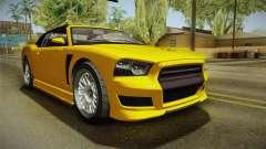 GTA 5 Bravado Buffalo 2-doors Cabrio IVF para GTA San Andreas