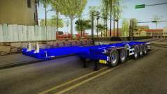 Trailer Container v3 para GTA San Andreas