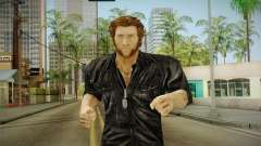 Logan in Black No Claws para GTA San Andreas