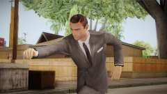 007 Sean Connery Grey Suit para GTA San Andreas