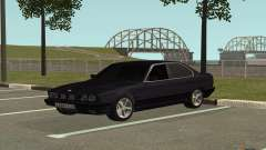 BMW M5 E34 black para GTA San Andreas