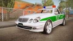 Mercedes-Benz E500 Iranian Police para GTA San Andreas