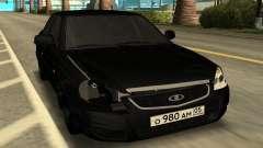 LADA PRIORA black para GTA San Andreas