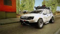 Dacia Duster Mud Edition para GTA San Andreas