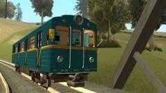 ST_M Metrovagon tipo de Erizo para GTA San Andreas