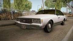 Chevrolet Impala Taxi 1985 IVF para GTA San Andreas
