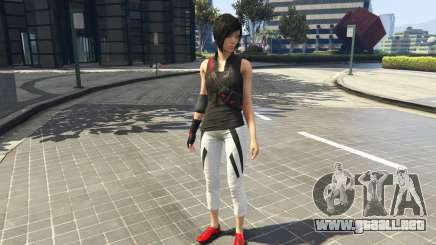 Faith Connors Mirrors Edge para GTA 5