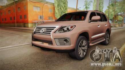 Lexus LX 570 Final Version para GTA San Andreas