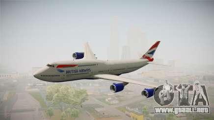 Boeing 747-8i British Airways para GTA San Andreas
