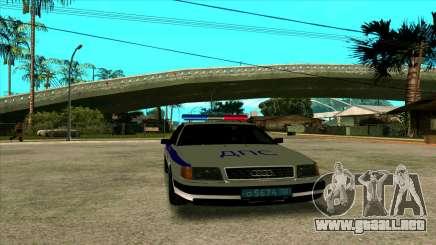 Audi 100 C4 Police para GTA San Andreas