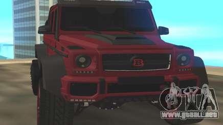 BRABUS G6x6 para GTA San Andreas