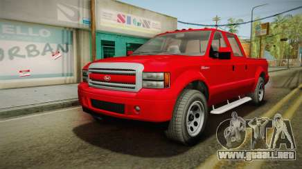GTA 5 Vapid Sadler para GTA San Andreas
