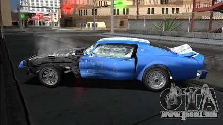 Insane car crashing mod para GTA San Andreas