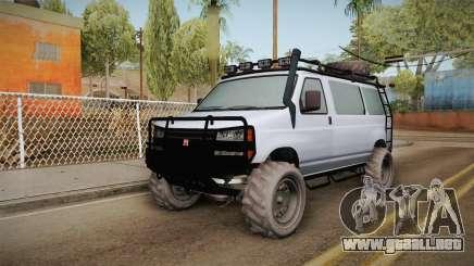 GTA 5 Bravado Rumpo Custom para GTA San Andreas