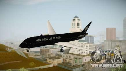 Boeing 787 Air New Zealand Black Edition para GTA San Andreas
