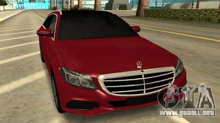 Mercedes Benz C63 AMG Station Wagon 2015 para GTA San Andreas