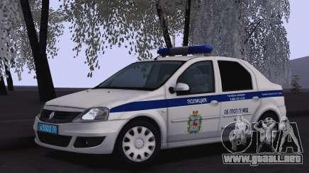 Renault Logan para Moi para GTA San Andreas