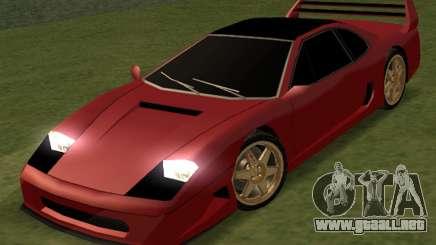 Turismo 2k17 para GTA San Andreas