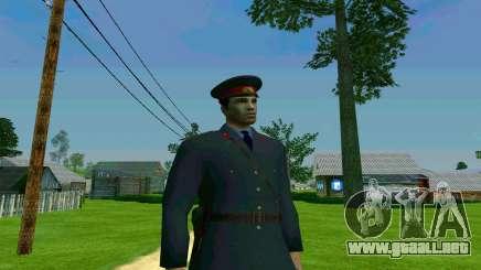 El capitán de la policía de la URSS para GTA San Andreas
