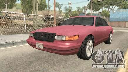 GTA 5 Vapid Stanier SA Style para GTA San Andreas