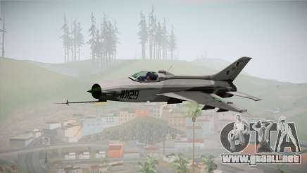 F-7 PG Pakistan Airforce para GTA San Andreas