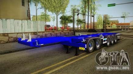 Trailer Container v3 para GTA San Andreas