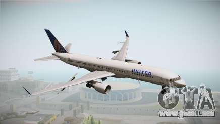 Boeing 757-200 United Airlines para GTA San Andreas
