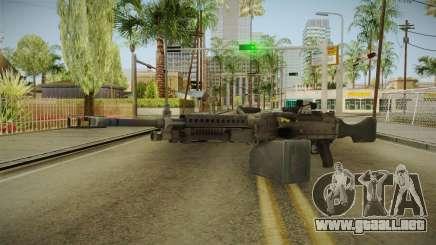 Battlefield 4 - M240B para GTA San Andreas