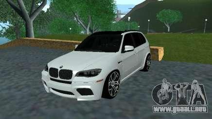 BMW X5 E70 Armenian para GTA San Andreas