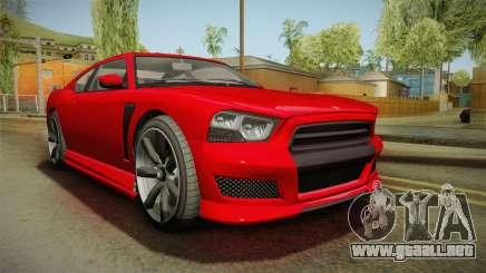 GTA 5 Bravado Buffalo de 2 puertas Coupe FIV para GTA San Andreas