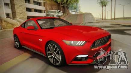 Ford Mustang GT 2015 5.0 para GTA San Andreas