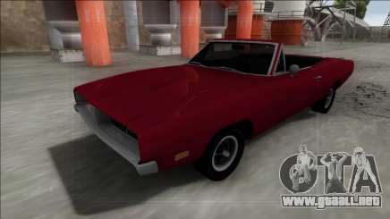 Dodge Charger RT Cabrio para GTA San Andreas