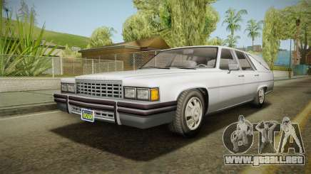 GTA 5 Albany Emperor Hearse IVF para GTA San Andreas