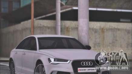 Audi RS6 2016 para GTA San Andreas
